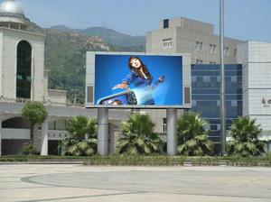 high quality P10 outdoor SMD full color LED display factory